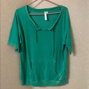 Jersey material casual tee, size XL